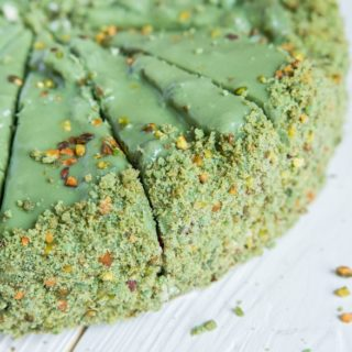 Keva - Recipes - Cakes - Kesar Pista Cake