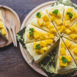Keva - Recipes - Cakes - Mango Cake