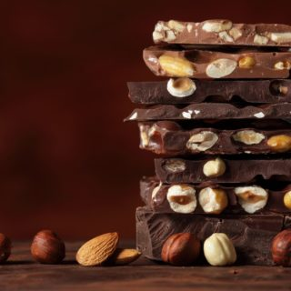 Keva - Recipes - Chocolates - Kesar & Nuts Chocolate
