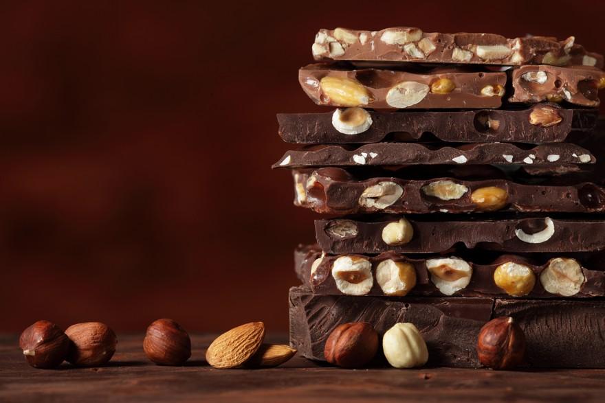 Keva - Recipes - Chocolates - Kesar & Nuts Chocolate
