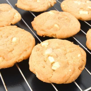 Keva - Recipes - Cookies - Mango White Chocolate Chip Cookies
