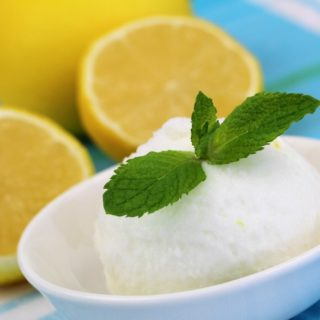 Keva - Recipes - Ice Creams - Lemon Sorbet
