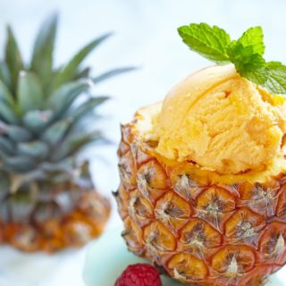 Keva - Recipes - Ice Creams - Pineapple Sorbet