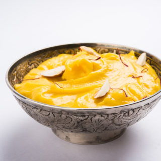 Keva - Recipes - Indian Sweets - Aam Shrikhand