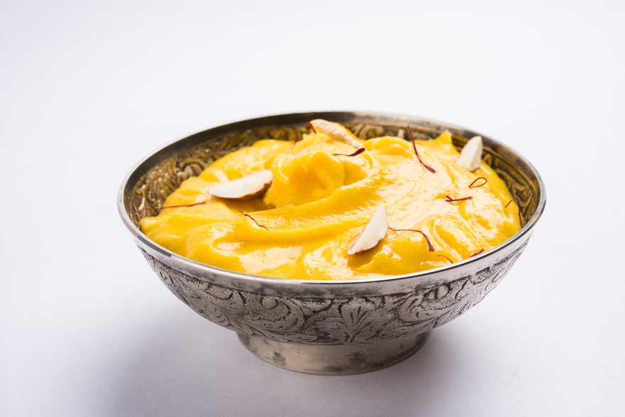 Keva - Recipes - Indian Sweets - Aam Shrikhand