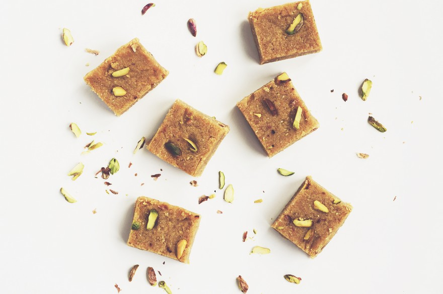 Keva - Recipes - Indian Sweets - Chocolate Coconut Barfi