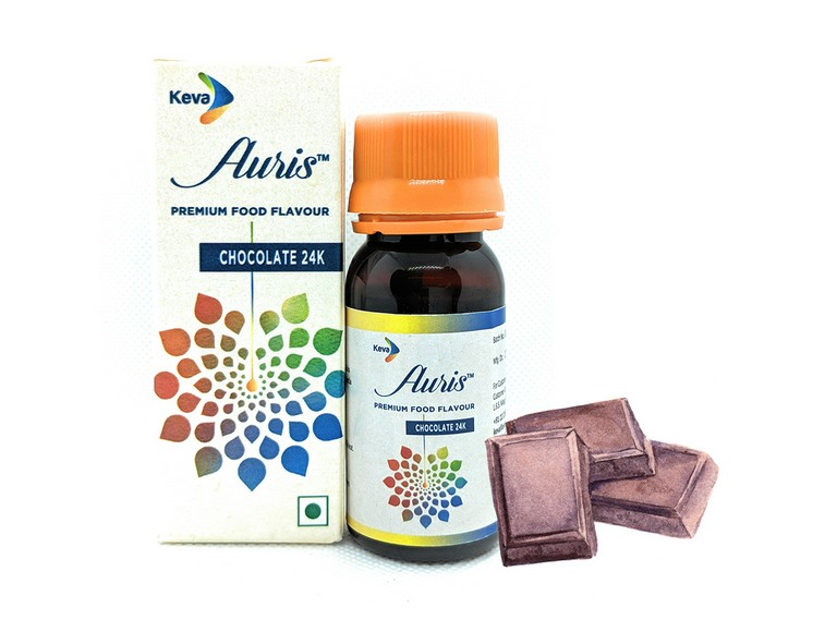 Auris Chocolate 24K | Premium Food Flavour | Chocolate Essence for Food & Beverages | 30 ML