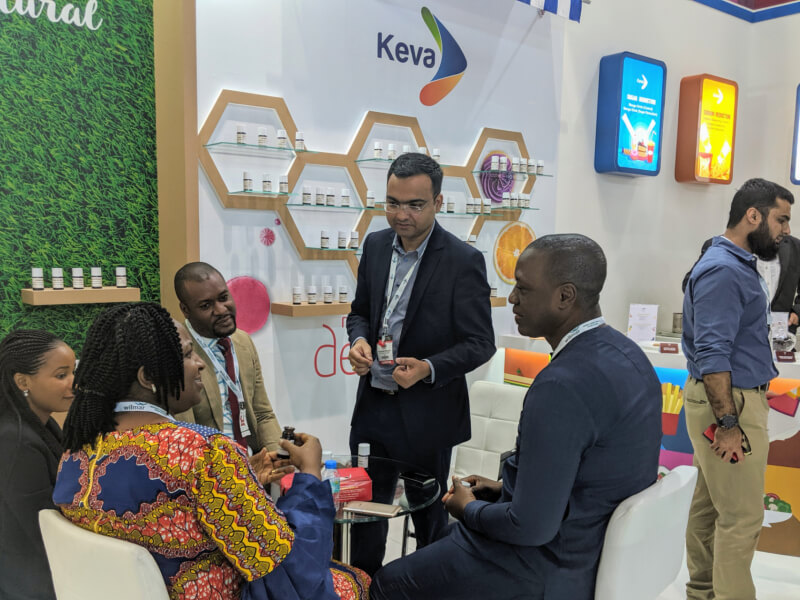 Keva Flavours participated in Gulfood Manufacturing, 2019